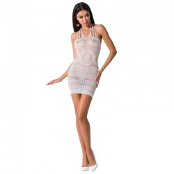 PASSION WOMAN BS063 ROBE BLANCHE TAILLE UNIQUE